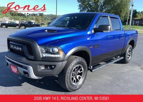 2018 RAM Ram Pickup 1500 for sale at Jones Chevrolet Buick Cadillac in Richland Center WI