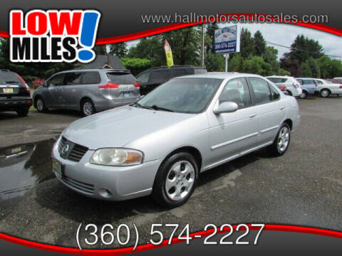2005 Nissan Sentra for sale at Hall Motors LLC in Vancouver WA