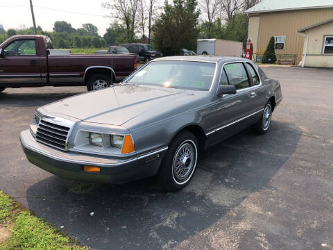 1985 Ford Thunderbird for sale at Lance's Automotive in Ontario NY