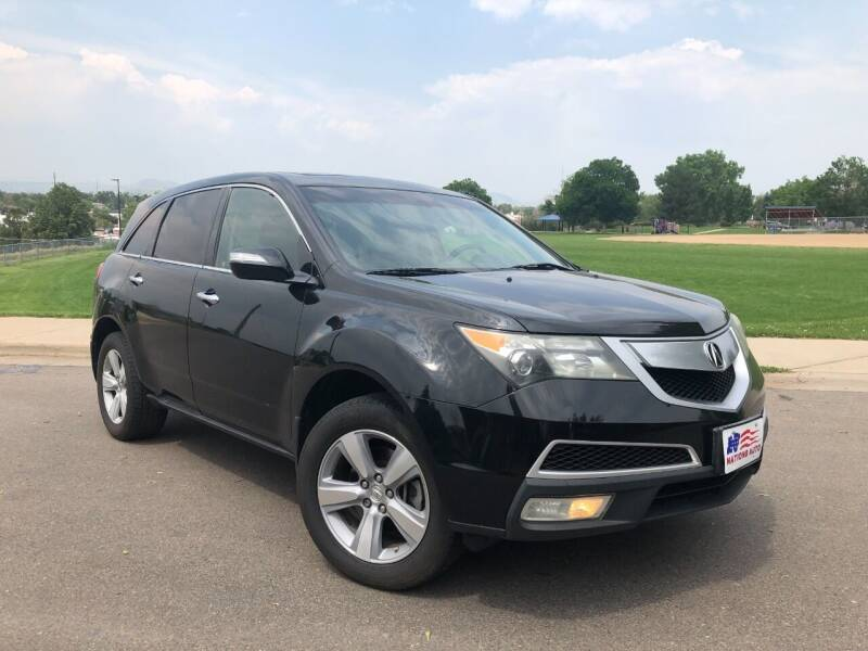 2011 Acura MDX for sale at Nations Auto in Lakewood CO