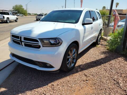 2015 Dodge Durango for sale at A AND A AUTO SALES in Gadsden AZ