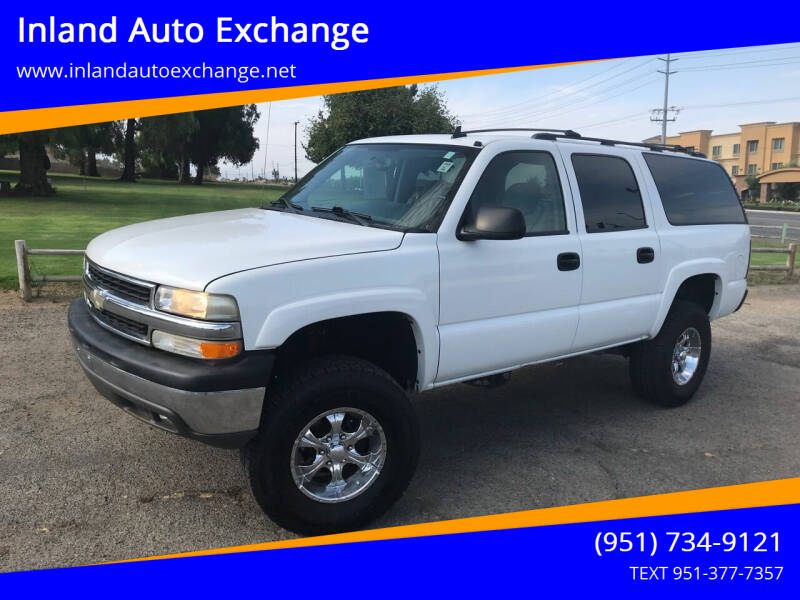 2006 Chevrolet Suburban for sale at Inland Auto Exchange in Norco CA