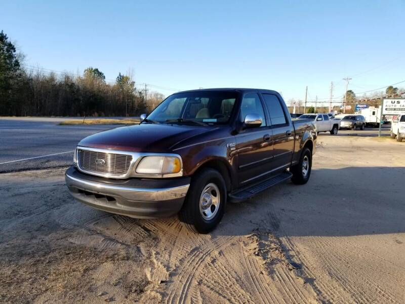 2001 Ford F-150 for sale at US 1 Auto Sales in Graniteville SC