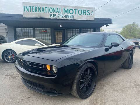 2015 Dodge Challenger for sale at International Motors Inc. in Nashville TN