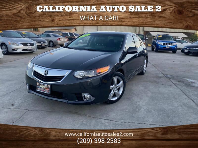 2011 Acura TSX for sale at CALIFORNIA AUTO SALE 2 in Livingston CA