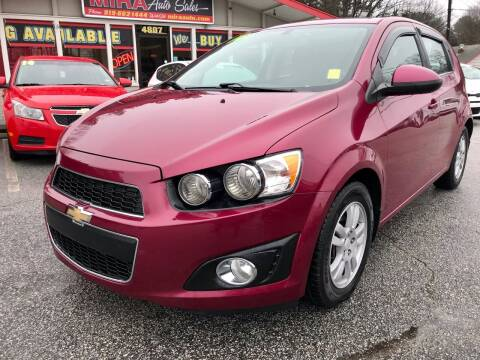 2014 Chevrolet Sonic for sale at Mira Auto Sales in Raleigh NC