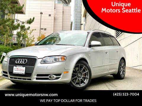 2005 Audi A4 for sale at Unique Motors Seattle in Bellevue WA