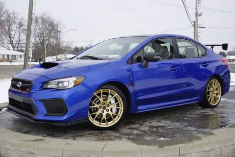 2018 Subaru WRX for sale at Platinum Motors LLC in Heath OH