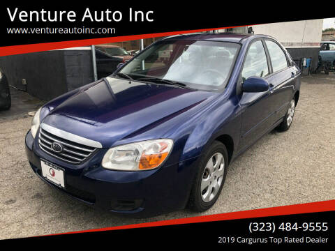 2008 Kia Spectra for sale at Venture Auto Inc in South Gate CA
