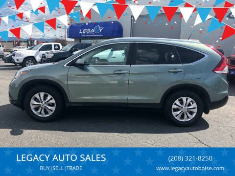 2012 Honda CR-V for sale at LEGACY AUTO SALES in Boise ID