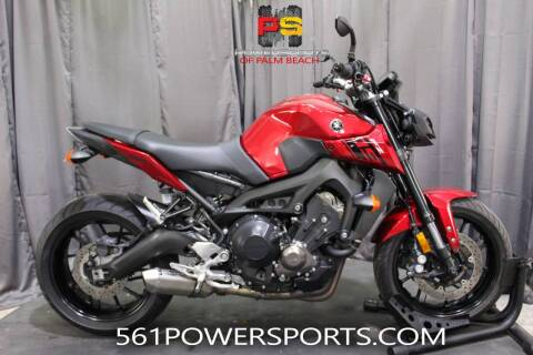 2017 Yamaha FZ-09 for sale at Powersports of Palm Beach in Hollywood FL