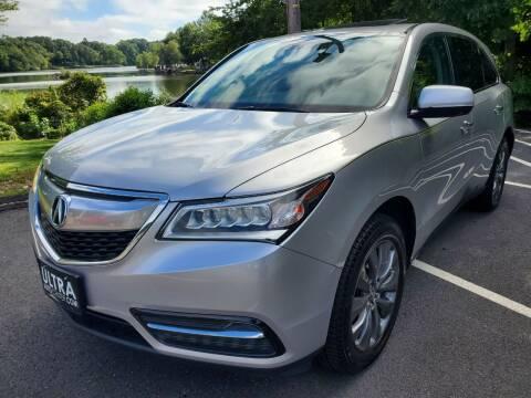 2014 Acura MDX for sale at Ultra Auto Center in North Attleboro MA