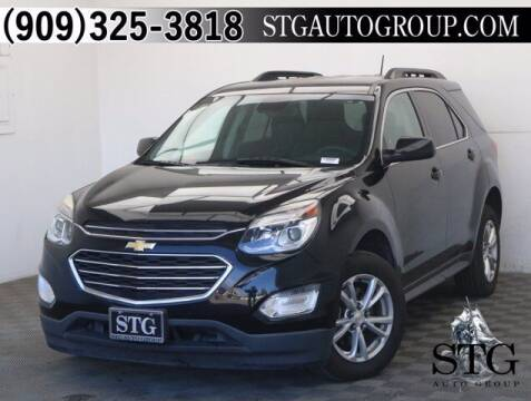 2016 Chevrolet Equinox for sale at STG Auto Group in Montclair CA