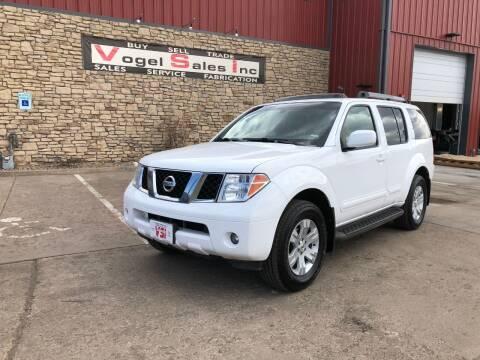 2007 Nissan Pathfinder for sale at Vogel Sales Inc in Commerce City CO