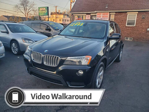 2012 BMW X3 for sale at Kar Connection in Little Ferry NJ