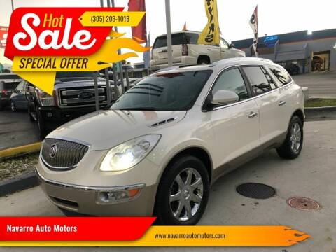 2008 Buick Enclave for sale at Navarro Auto Motors in Hialeah FL