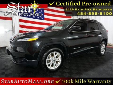 2016 Jeep Cherokee for sale at STAR AUTO MALL 512 in Bethlehem PA