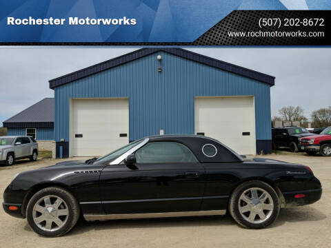 2002 Ford Thunderbird for sale at Rochester Motorworks in Rochester MN