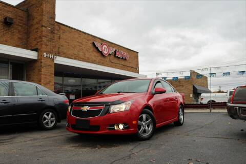 2013 Chevrolet Cruze for sale at JT AUTO in Parma OH
