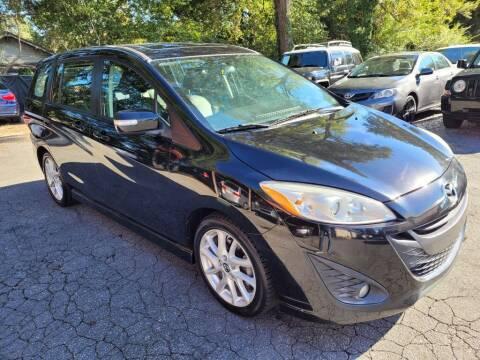 2013 Mazda MAZDA5 for sale at G & Z Auto Sales LLC in Marietta GA