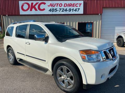 2014 Nissan Armada for sale at OKC Auto Direct in Oklahoma City OK