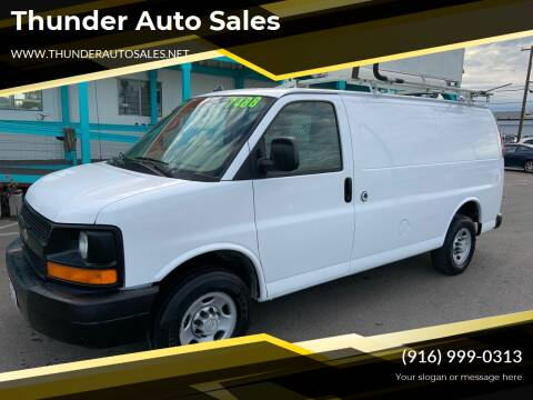 2006 Chevrolet Express Cargo for sale at Thunder Auto Sales in Sacramento CA