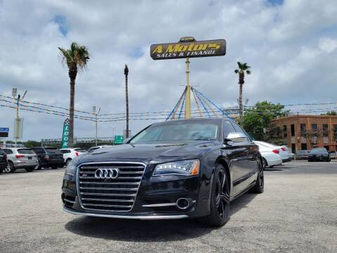 2014 Audi S8 for sale at A MOTORS SALES AND FINANCE in San Antonio TX