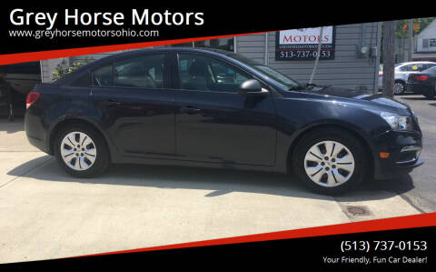 2015 Chevrolet Cruze for sale at Grey Horse Motors in Hamilton OH