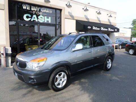 2003 Buick Rendezvous for sale at Wilson-Maturo Motors in New Haven CT
