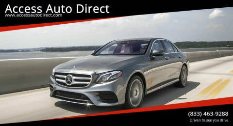 2019 Mercedes-Benz E-Class for sale at Access Auto Direct in Baldwin NY