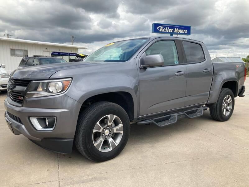 2018 Chevrolet Colorado for sale at Keller Motors in Palco KS