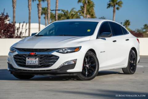 2021 Chevrolet Malibu for sale at Euro Auto Sales in Santa Clara CA