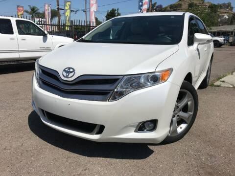 2013 Toyota Venza for sale at Vtek Motorsports in El Cajon CA