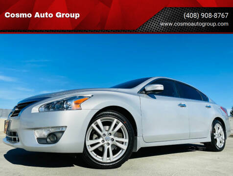 2013 Nissan Altima for sale at Cosmo Auto Group in San Jose CA