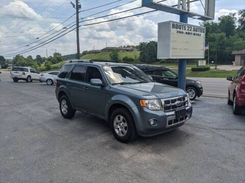 2012 Ford Escape for sale at Route 22 Autos in Zanesville OH
