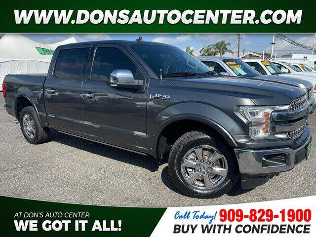 2019 Ford F-150 for sale at Dons Auto Center in Fontana CA