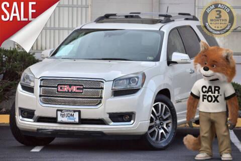 2014 GMC Acadia for sale at JDM Auto in Fredericksburg VA
