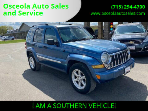 2006 Jeep Liberty for sale at Osceola Auto Sales and Service in Osceola WI