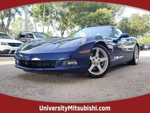 2005 Chevrolet Corvette for sale at University Mitsubishi in Davie FL
