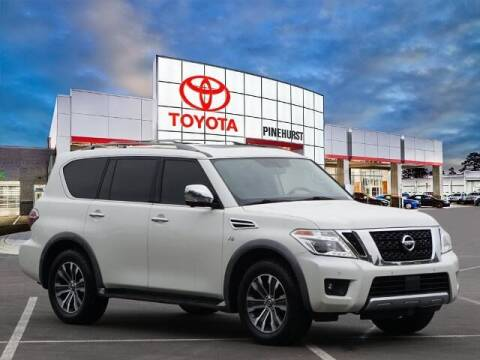 2018 Nissan Armada for sale at PHIL SMITH AUTOMOTIVE GROUP - Pinehurst Toyota Hyundai in Southern Pines NC
