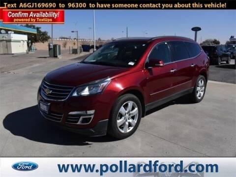 2016 Chevrolet Traverse for sale at South Plains Autoplex by RANDY BUCHANAN in Lubbock TX