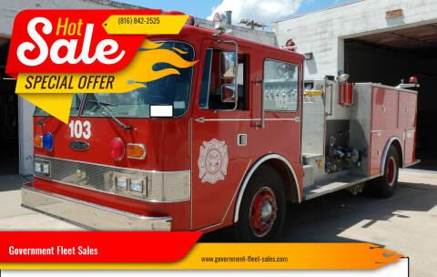 1981 Fire Truck Oshcosh Pierce Arrow for sale at Government Fleet Sales in Kansas City MO
