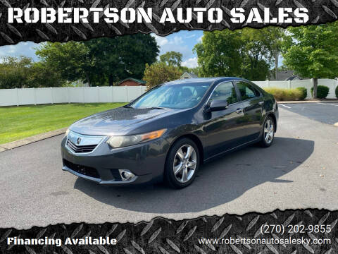 2011 Acura TSX for sale at ROBERTSON AUTO SALES in Bowling Green KY