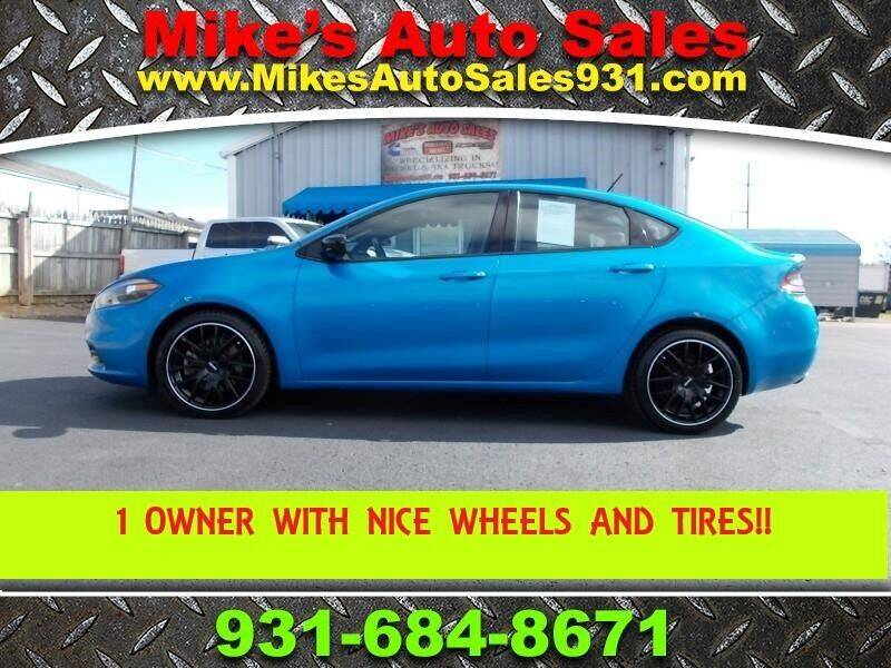 2015 Dodge Dart for sale at Mike's Auto Sales in Shelbyville TN