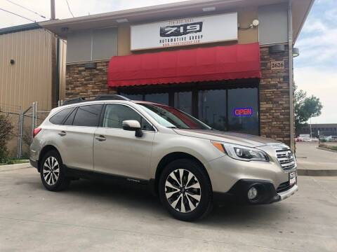 2015 Subaru Outback for sale at 719 Automotive Group in Colorado Springs CO