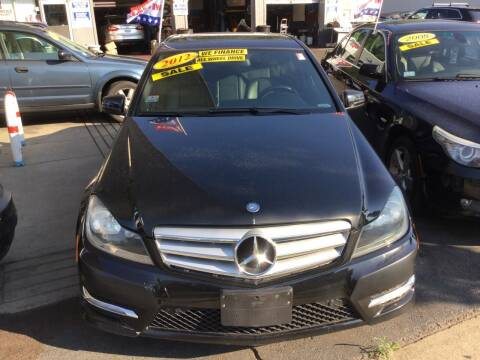 2012 Mercedes-Benz C-Class for sale at Olsi Auto Sales in Worcester MA