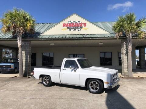 1986 Chevrolet C/K 10 Series for sale at Rabeaux's Auto Sales in Lafayette LA