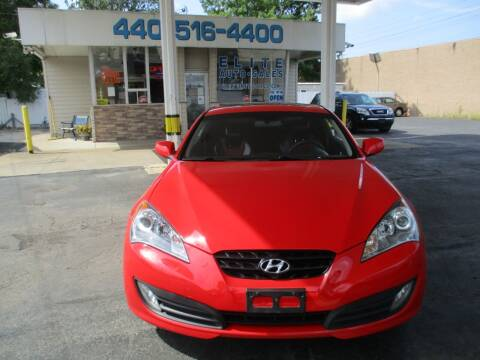 2010 Hyundai Genesis Coupe for sale at Elite Auto Sales in Willowick OH
