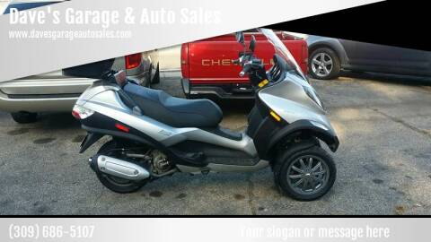 2009 Piaggio Mp3  250ie for sale at Dave's Garage & Auto Sales in East Peoria IL