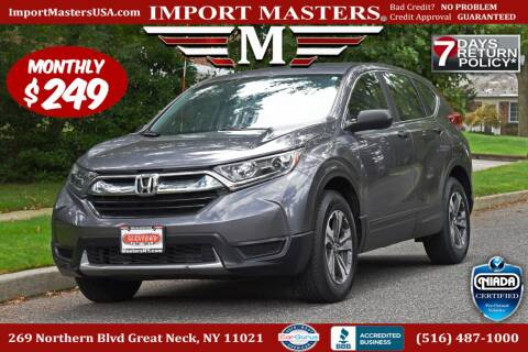 2018 Honda CR-V for sale at European Masters in Great Neck NY